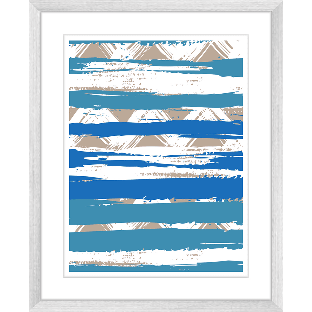 Zig Zag Abstracts | Framed Art | Wall Art Gold Coast | Wallpaper | Innovate Interiors