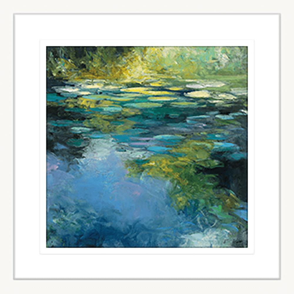 Water Lillies | Framed Art | Wall Art Gold Coast | Wallpaper | Innovate Interiors