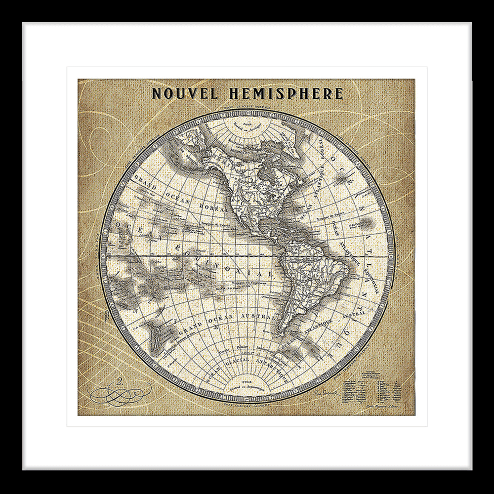 French World Map | Framed Art | Wall Art Gold Coast | Wallpaper | Innovate Interiors