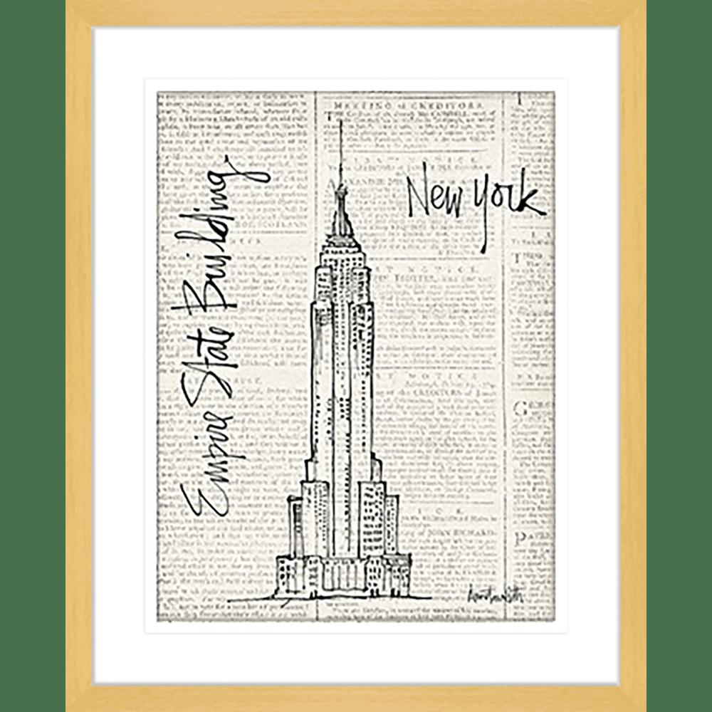 NY City Sketches | Framed Art | Wall Art Gold Coast | Wallpaper | Innovate Interiors