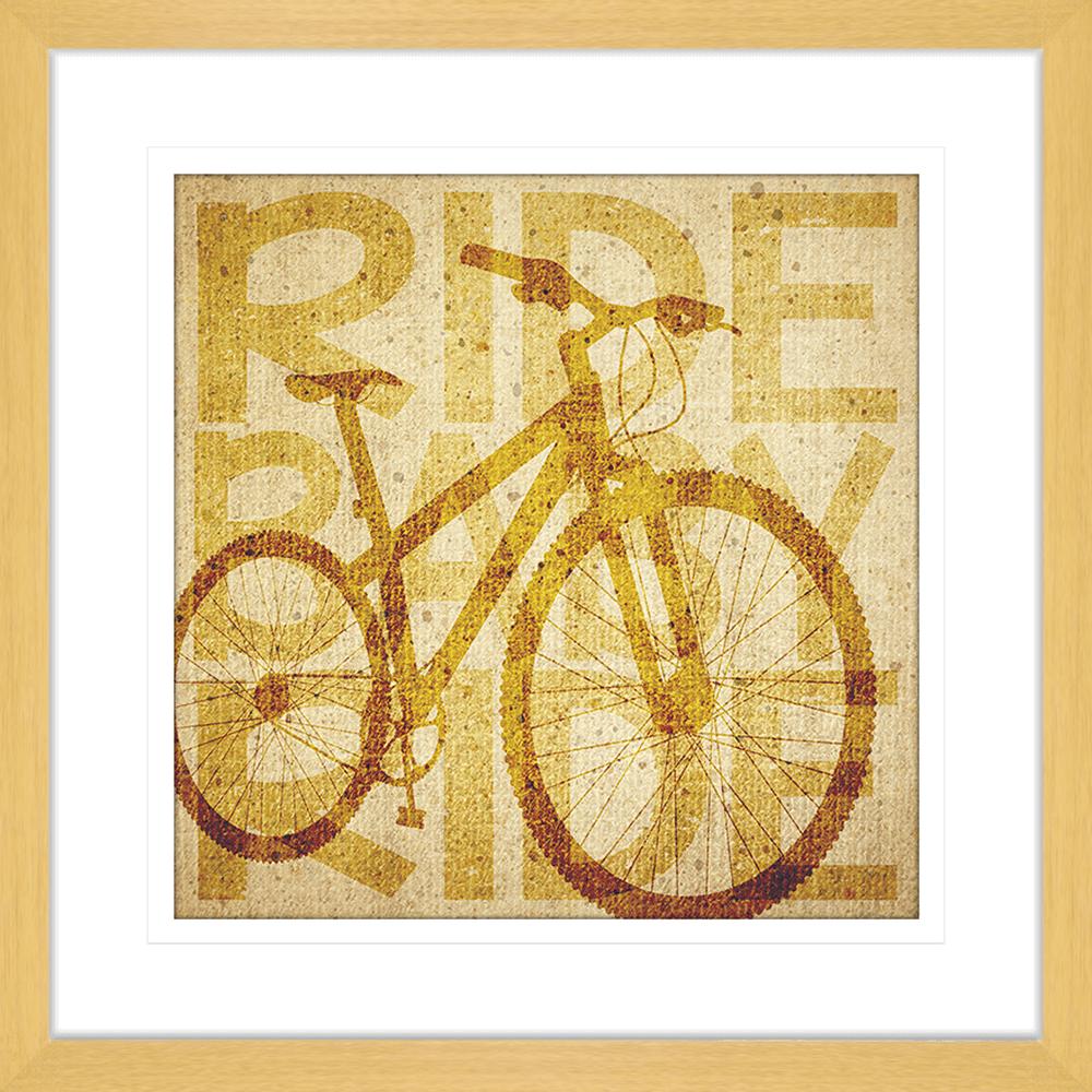 Vintage Bike | Framed Art | Wall Art Gold Coast | Wallpaper | Innovate Interiors