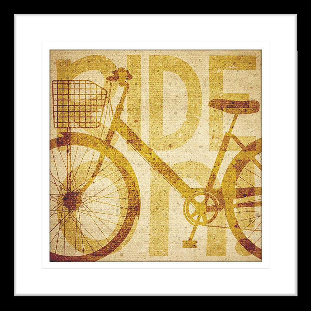Vintage Bike | Framed Art | Wall Art Gold Coast | Wallpaper | Innovate Interiors