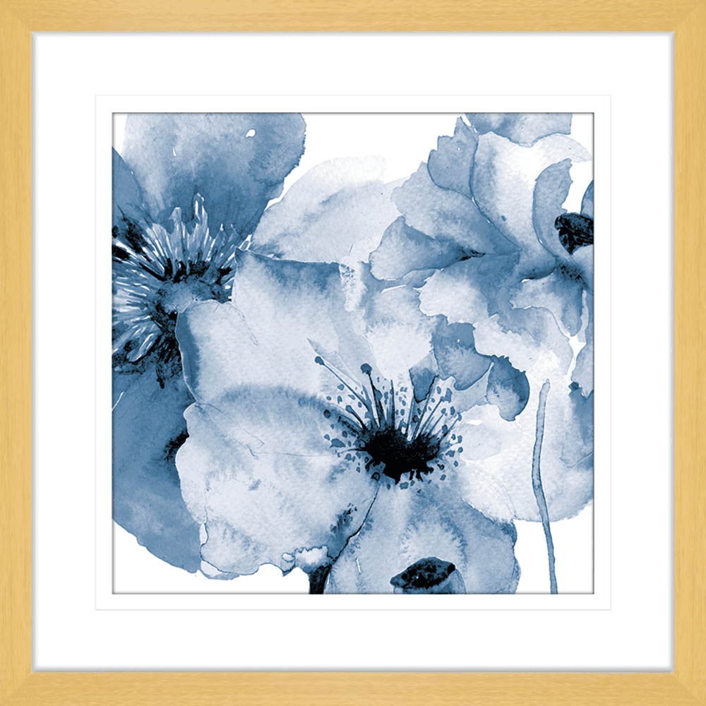 Flowing Flowers | Framed Art | Wall Art Gold Coast | Wallpaper | Innovate Interiors