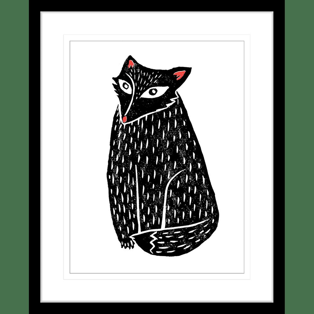 Finnigan & Friends - FINN03 - Framed Art Print Black