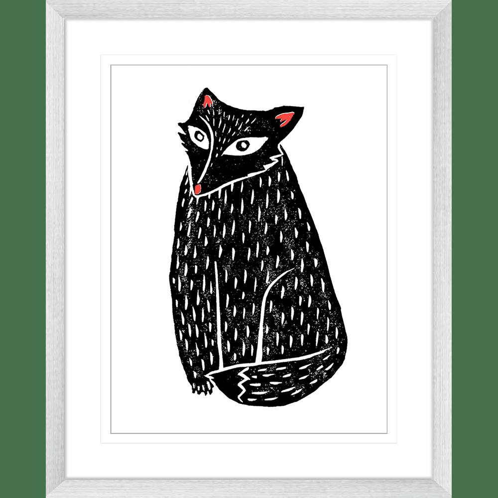 Finnigan & Friends - FINN03 - Framed Art Print Silver
