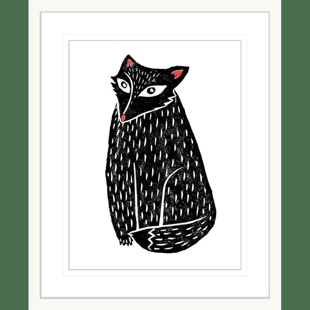 Finnigan & Friends - FINN03 - Framed Art Print White