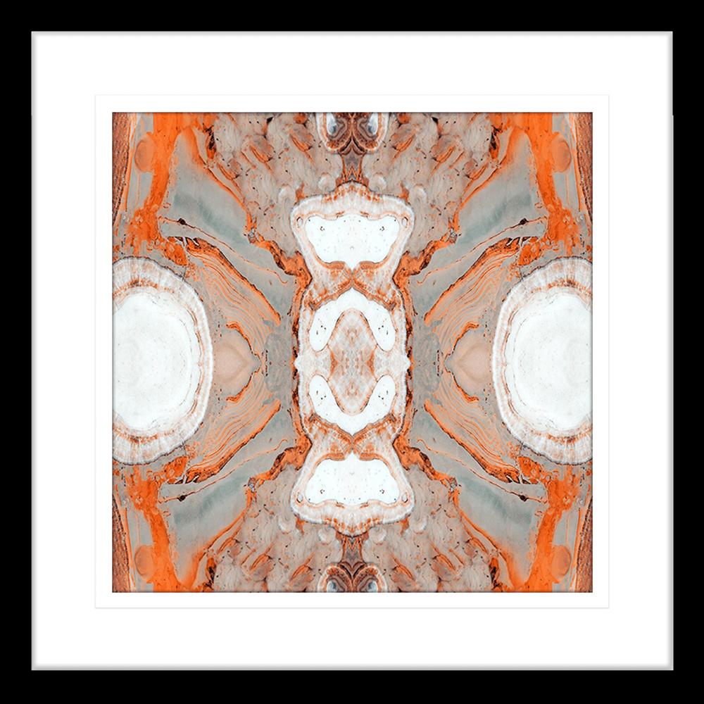 Flux Collection - FLUX02 - Framed Art Print Black
