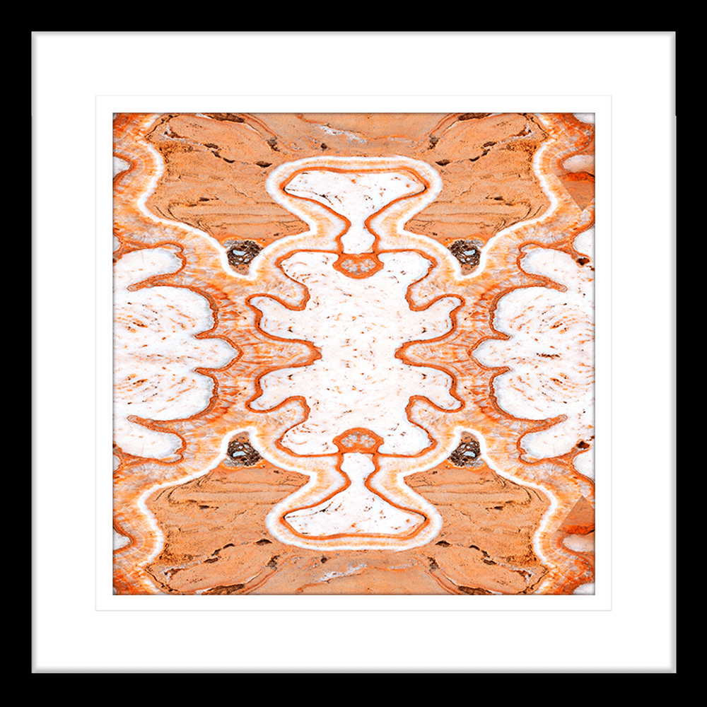 Flux Collection - FLUX03 - Framed Art Print Black