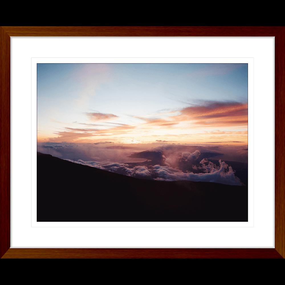 Minds Eye Collection - MINDS01 - Framed Art Print Teak