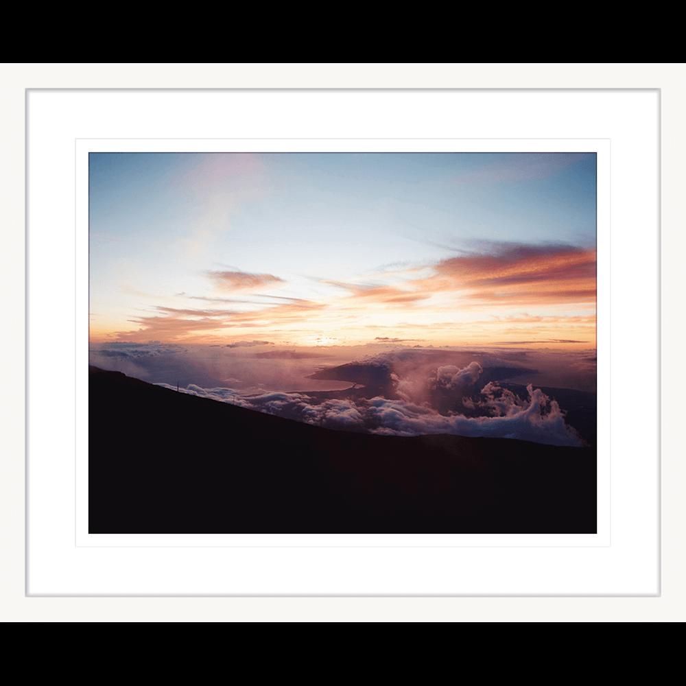 Minds Eye Collection - MINDS01 - Framed Art Print White