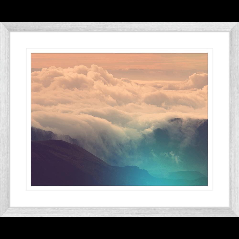 Minds Eye Collection - MINDS02 - Framed Art Print Silver