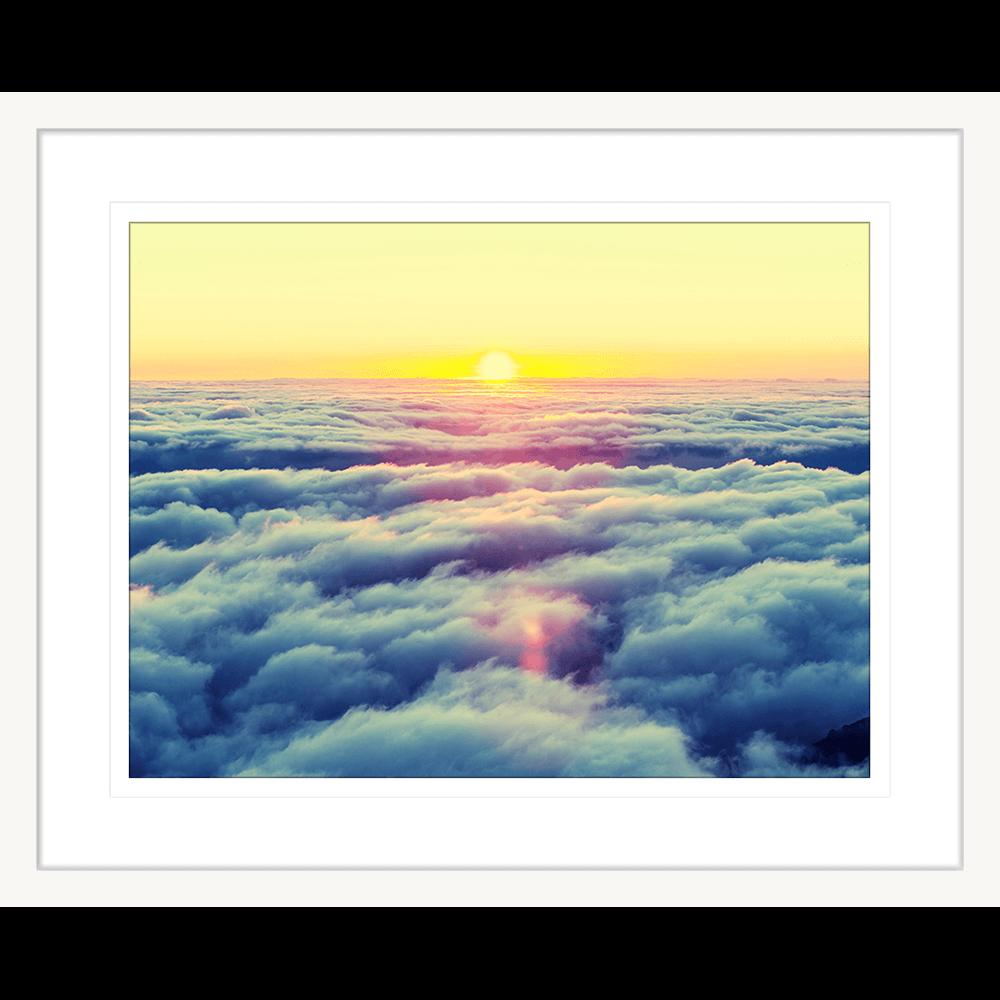 Minds Eye Collection - MINDS03 - Framed Art Print White