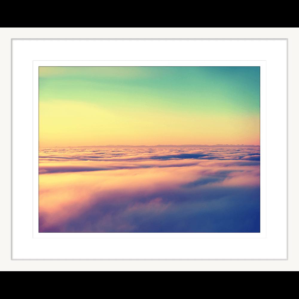 Minds Eye Collection - MINDS05 - Framed Art Print White