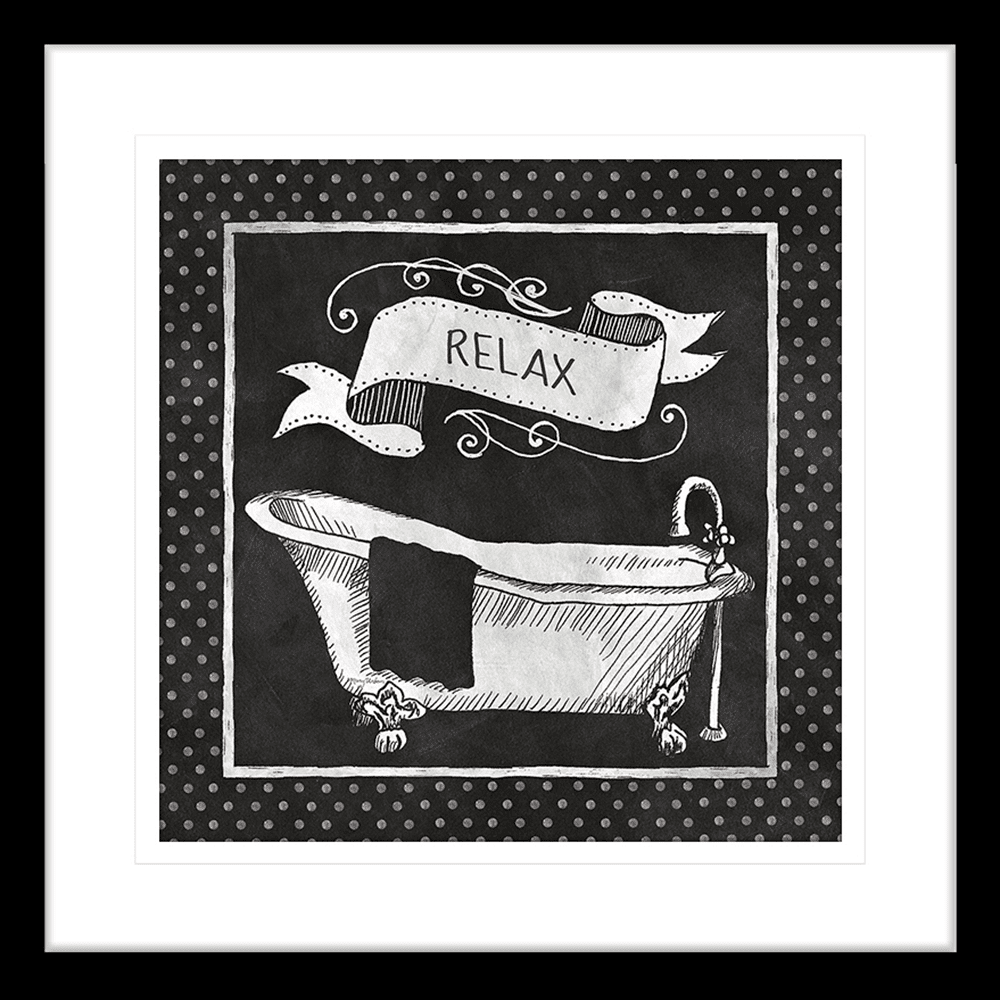 'Renew' Chalkboard Bath | Framed Art | Wall Art Gold Coast | Wallpaper | Innovate Interiors