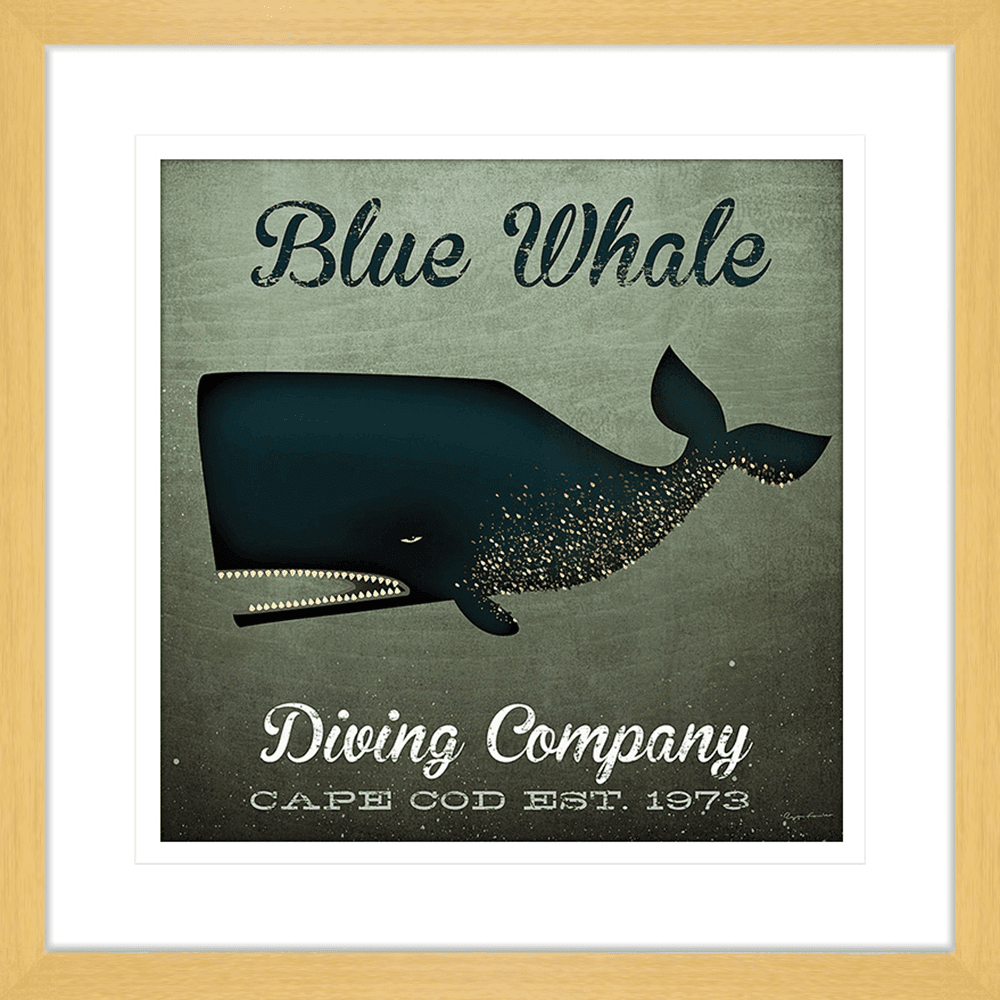 Barnacle Whale Diving | Framed Art | Wall Art Gold Coast | Wallpaper | Innovate Interiors