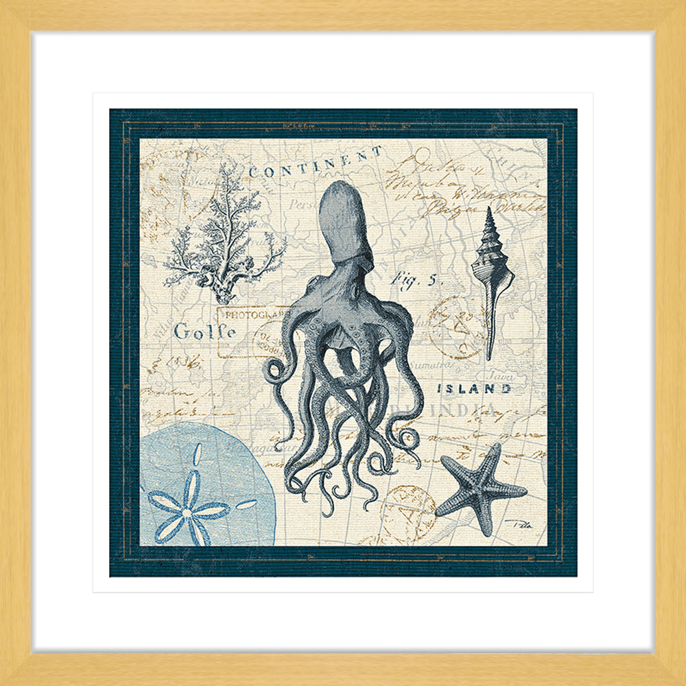 Ocean Life | Framed Art | Wall Art Gold Coast | Wallpaper | Innovate Interiors