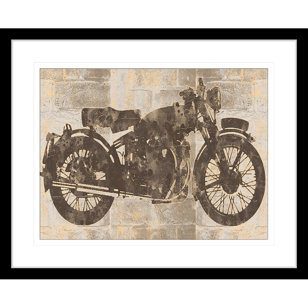 Motorbike | Framed Art | Wall Art Gold Coast | Wallpaper | Innovate Interiors