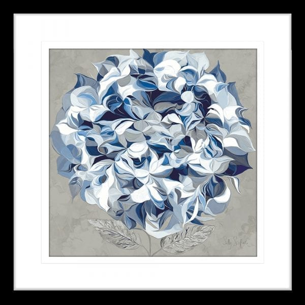 62175ma ELEGANT HYDRANGEA I BLK | Framed Art | Wall Art Gold Coast | Wallpaper | Innovate Interiors
