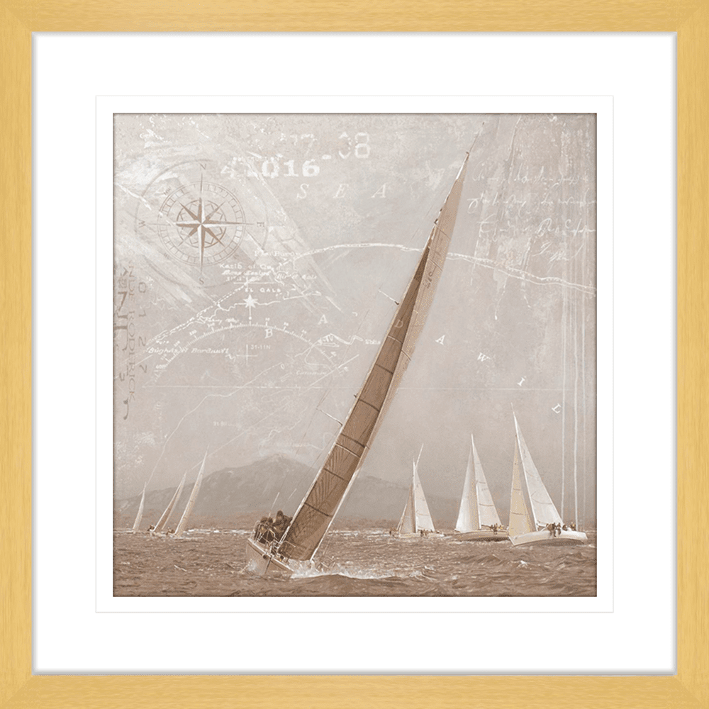 Yachting | Framed Art | Wall Art Gold Coast | Wallpaper | Innovate Interiors