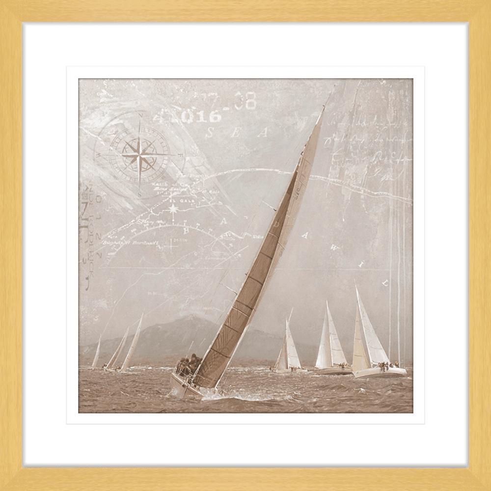 Yachting | Framed Art | Wall Art Gold Coast | Wallpaper | Innovate Interiors