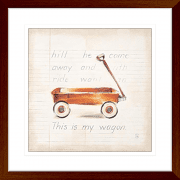 'Wagon' Youth Expression | Framed Art | Wall Art Gold Coast | Wallpaper | Innovate Interiors