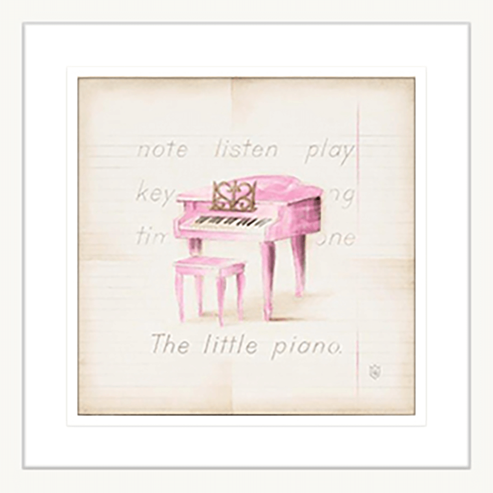 'Piano' Youth Expression | Framed Art | Wall Art Gold Coast | Wallpaper | Innovate Interiors