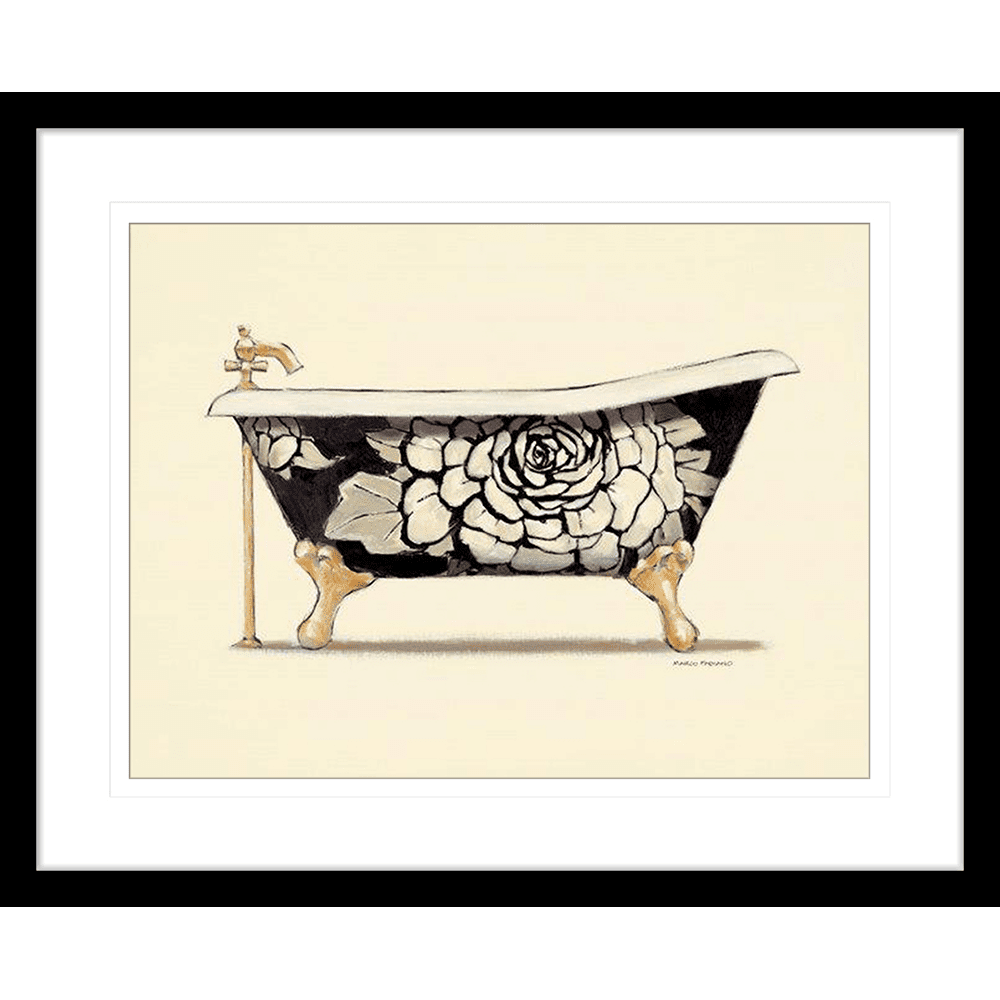Claw Foot Tub | Framed Art | Wall Art Gold Coast | Wallpaper | Innovate Interiors