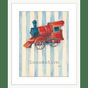 'Locomotive' Boys Toys | Framed Art | Wall Art Gold Coast | Wallpaper | Innovate Interiors