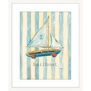 'Sailboat' Boys Toys| Framed Art | Wall Art Gold Coast | Wallpaper | Innovate Interiors