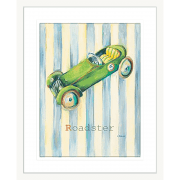 'Roadster' Boys Toys| Framed Art | Wall Art Gold Coast | Wallpaper | Innovate Interiors