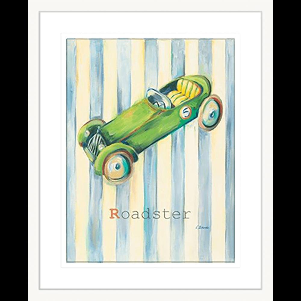 'Roadster' Boys Toys  Framed Art   Wall Art Gold Coast   Wallpaper   Innovate Interiors