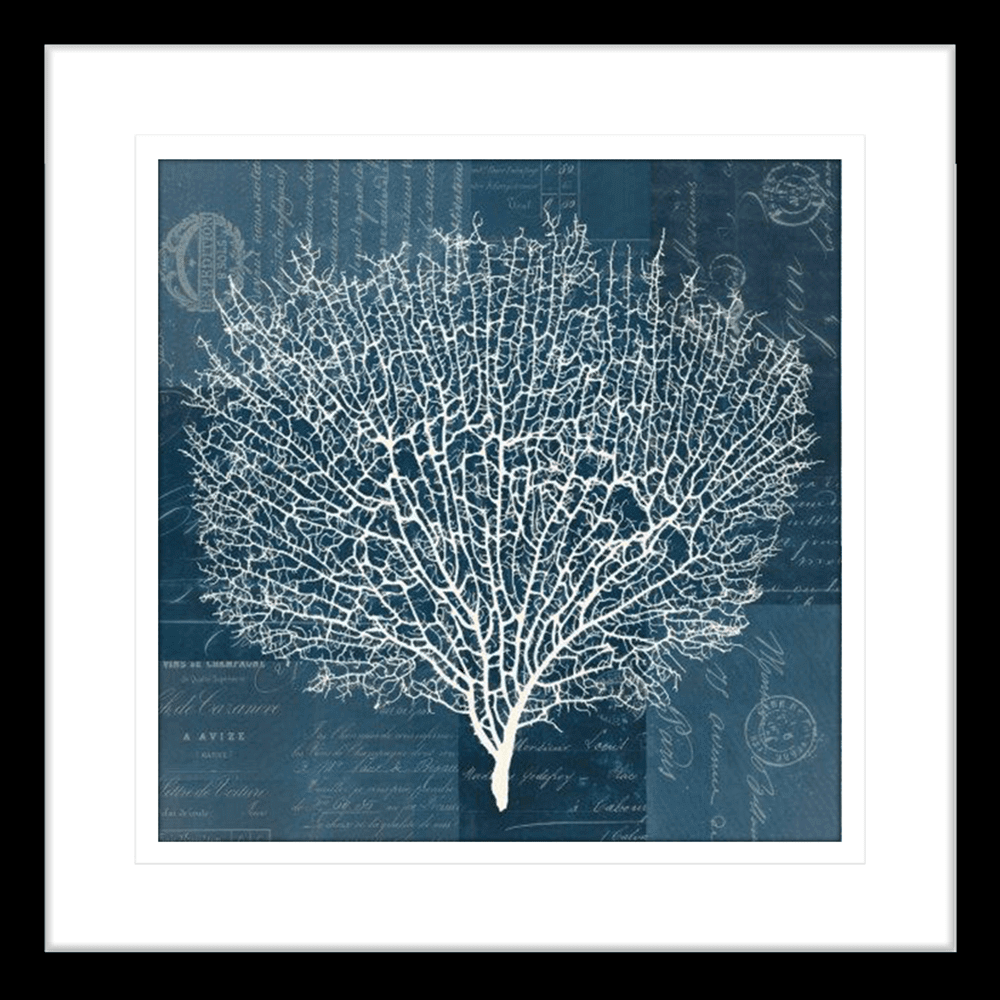 'Lavender Pistache' Sea Fan | Framed Art | Wall Art Gold Coast | Wallpaper | Innovate Interiors
