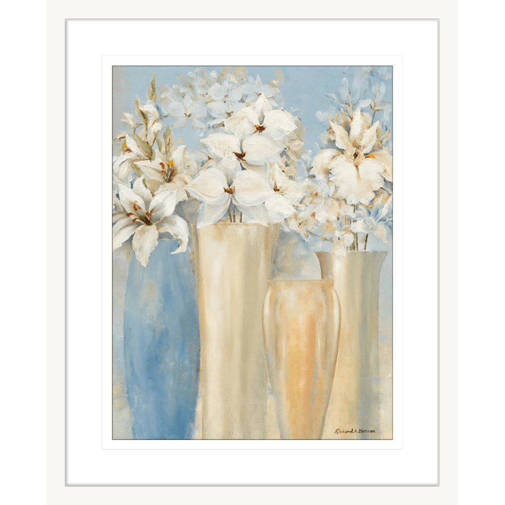 Elegant Bouquets | Framed Art | Wall Art Gold Coast | Wallpaper | Innovate Interiors