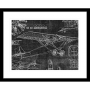 Vintage Aviation | Framed Art | Wall Art Gold Coast | Wallpaper | Innovate Interiors