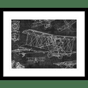 Vintage Aviation | Framed Art | Wall Art Gold Coast | Wallpaper | Innovate Interiors