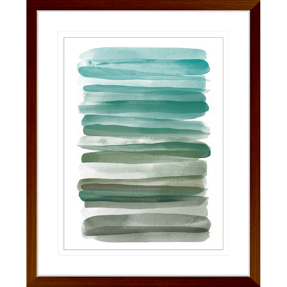 Watercolour Stripes | Framed Art | Wall Art Gold Coast | Wallpaper | Innovate Interiors