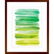 Watercolour Stripes | Framed Art | Wall Art Gold Coast | Wallpaper | Innovate Interiors