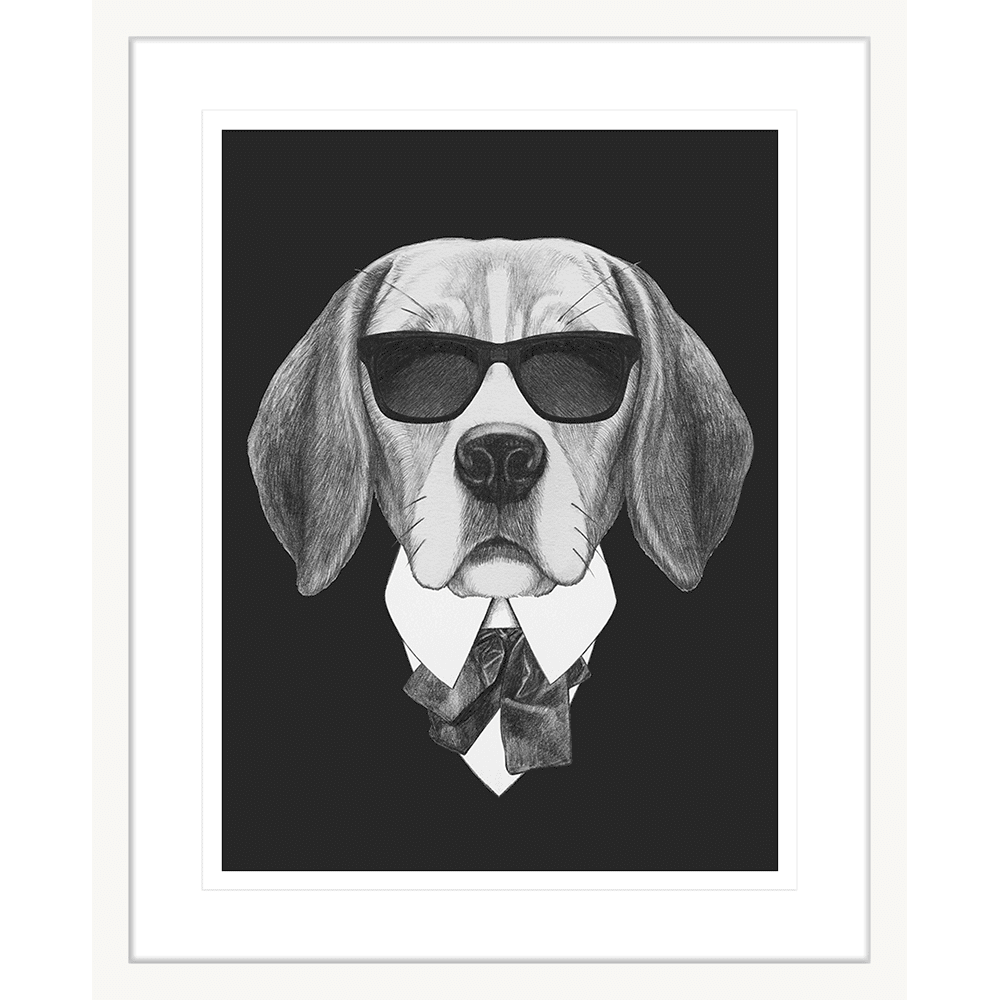 Agent Ruff | Framed Art | Wall Art Gold Coast | Wallpaper | Innovate Interiors