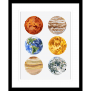 Astronauts & Asteroids   Framed Art   Wall Art Gold Coast   Wallpaper   Innovate Interiors