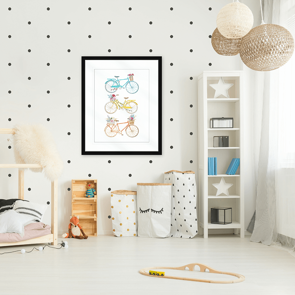 Bicycle Lane Collection - BICY02 - Styled Room