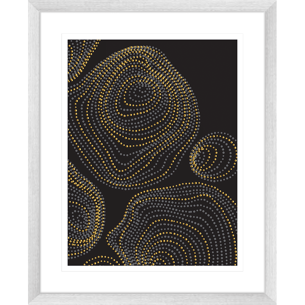 Forces Collection - FORC01 - Framed Art Print Silver
