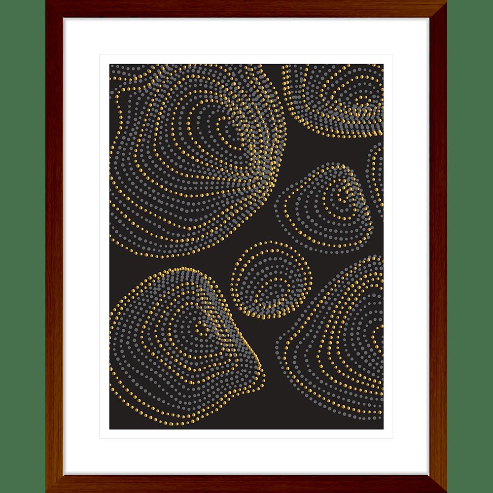 Forces Collection - FORC02 - Framed Art Print Teak