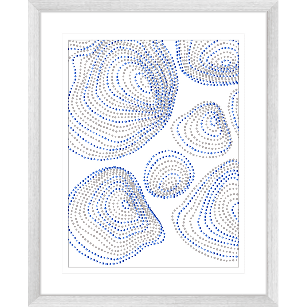 Forces Collection - FORC03 - Framed Art Print Silver
