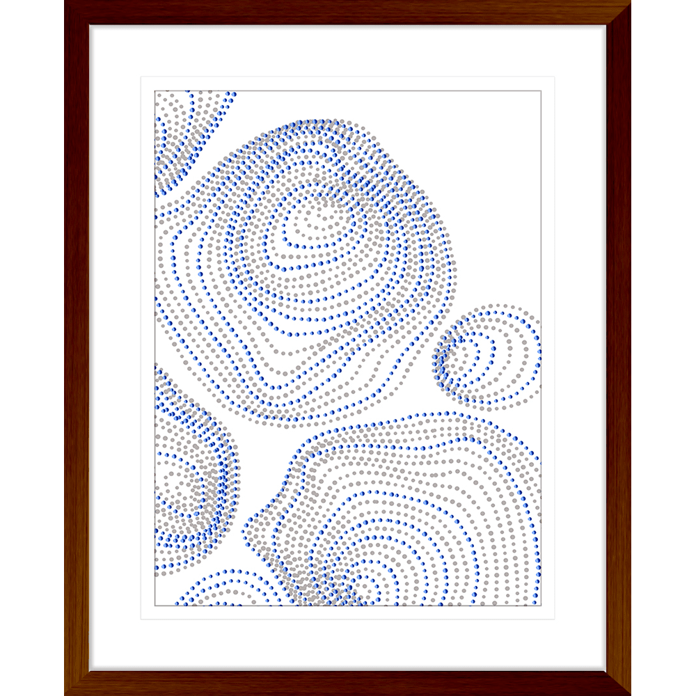 Forces Collection - FORC04 - Framed Art Print Teak
