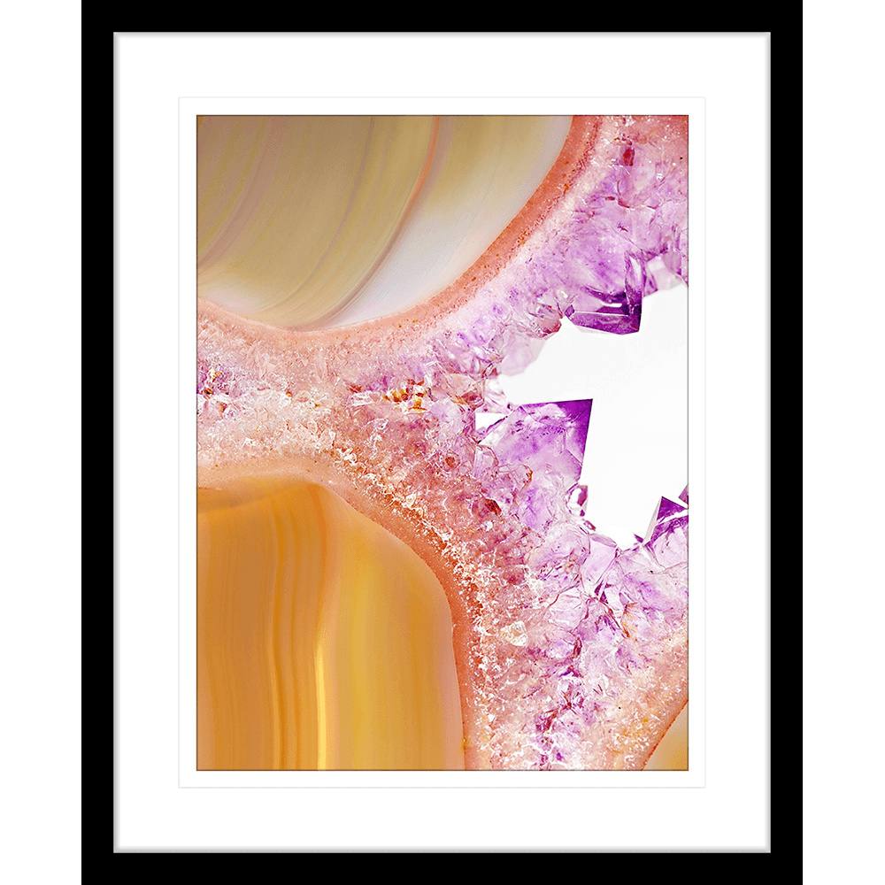 Metallic Magnetism Collection - MAG02 - Framed Art Print Black | Framed Art | Wall Art Gold Coast | Wallpaper | Innovate Interiors