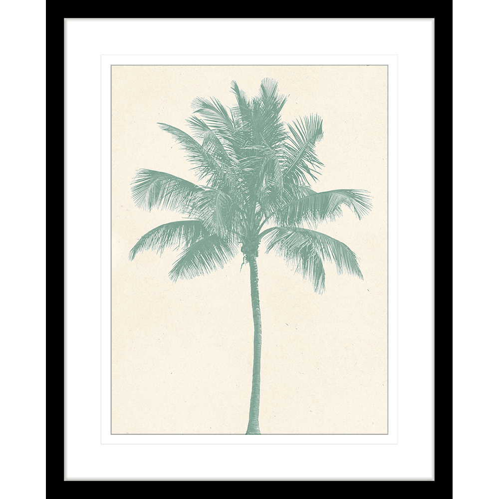 Seaside Escape Collection - ESC02 - Framed Art Print Black