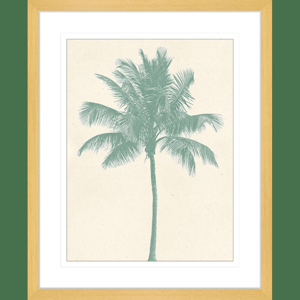 Seaside Escape Collection - ESC02 - Framed Art Print Oak