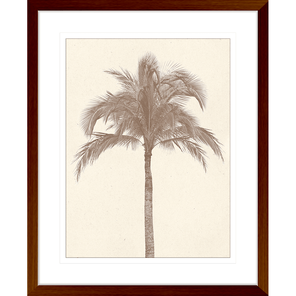 Seaside Escape Collection - ESC06 - Framed Art Print Teak