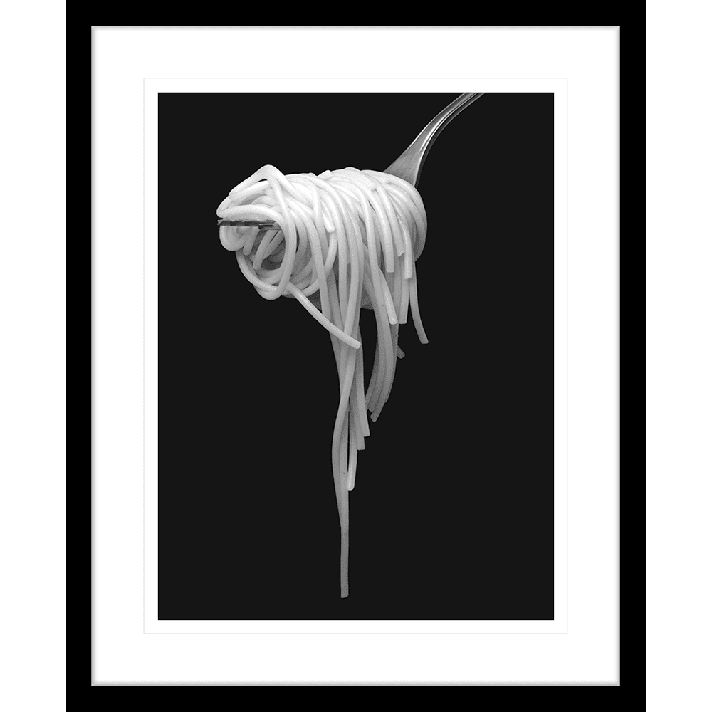 Secret Recipe Collection - SECR01 - Framed Art Print Black