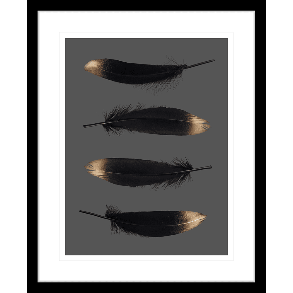 Spellbound Collection - SPELL01 - Framed Art Print Black